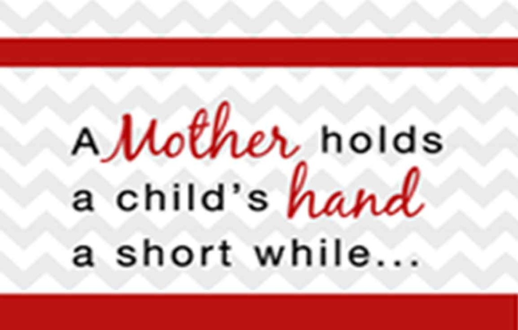 Hold Child's Hand Chevron
